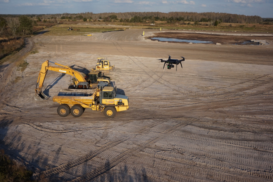 How aerial data capture helped this Construction firm simplify workflows