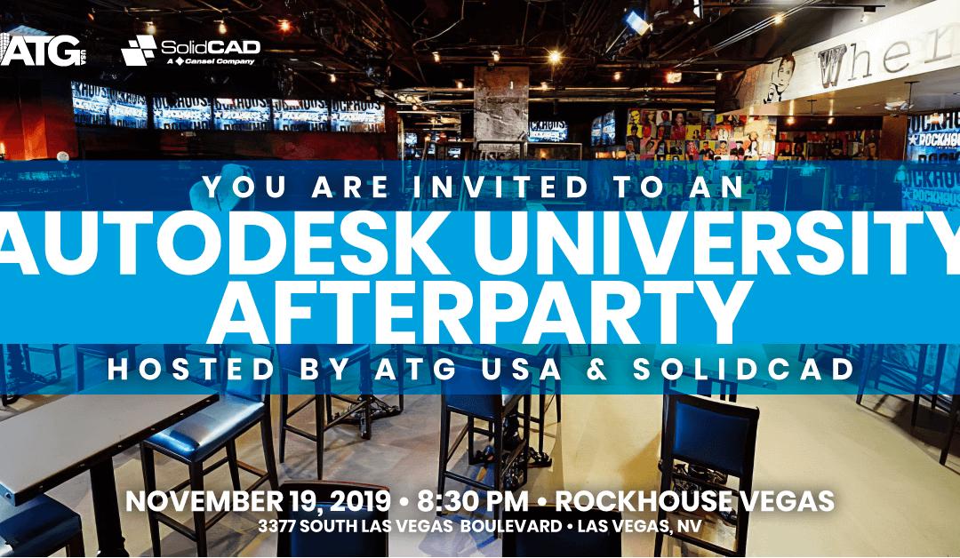 ATG USA Autodesk University Afterparty