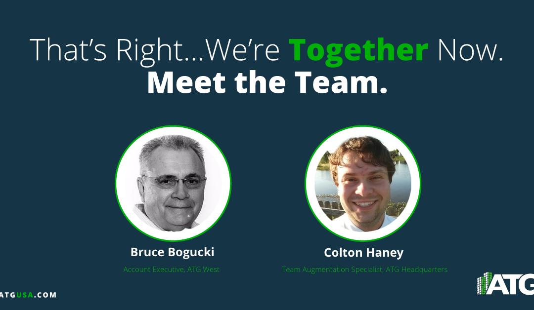 Meet the Team- Bruce Bogucki & Colton Haney