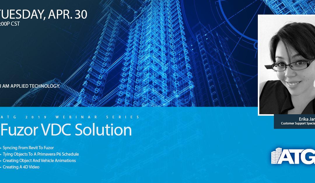 ATG Webinar: Fuzor VDC Solution