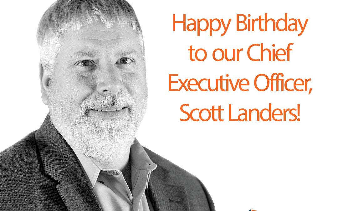 Happy Birthday to Scott Landers, ATG USA CEO