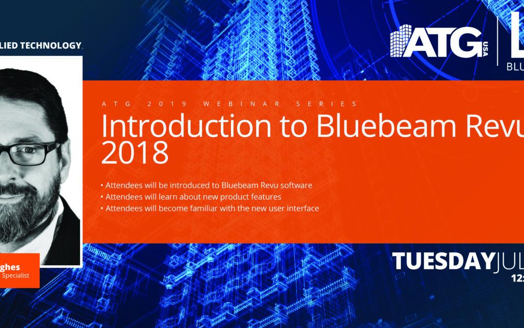 ATG Webinar: Introduction to Bluebeam Revu