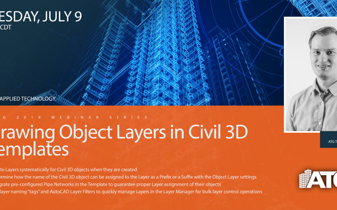ATG Webinar: Drawing Object Layers in Civil 3D Templates