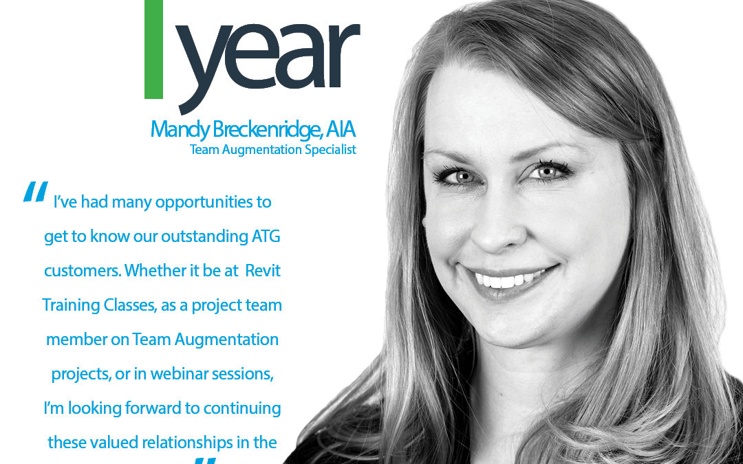 Happy ATG Anniversary to Mandy Breckenridge, AIA, ATG Team Augmentation Specialist