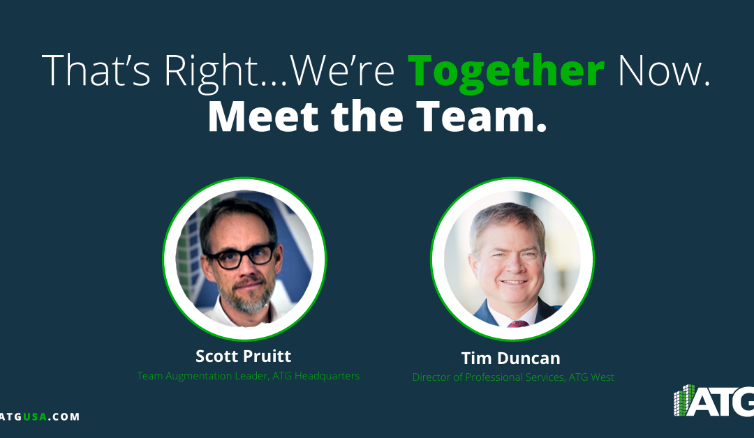 Meet the Team- Tim Duncan & Scott Pruitt