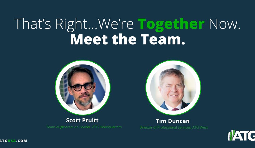 Meet the Team- Tim Duncan & Scott Pruitt