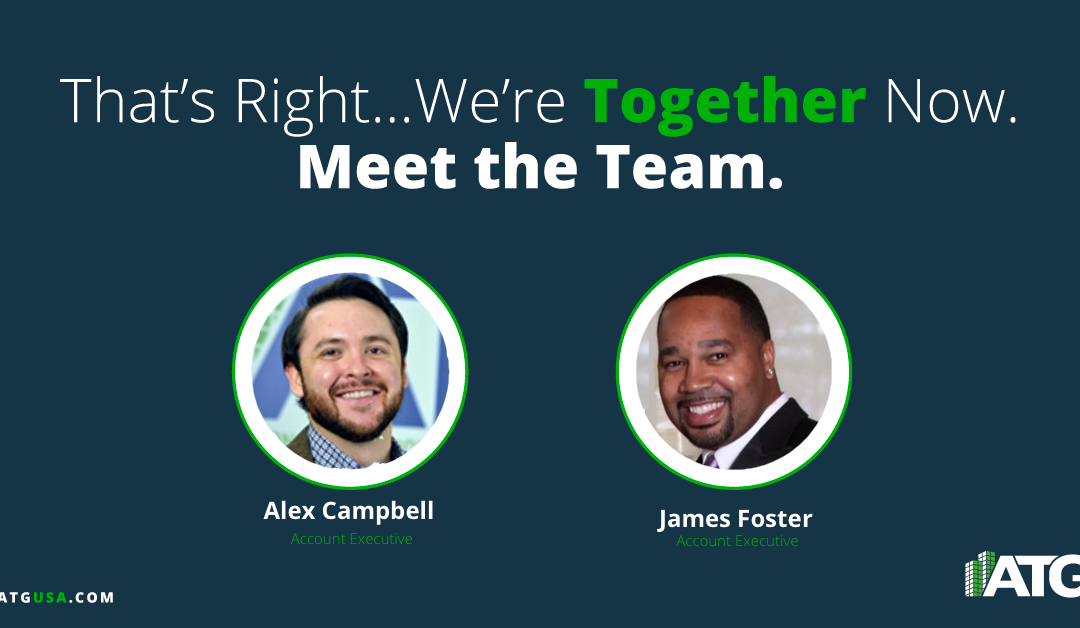 Meet the Team- Alex Campbell & James Foster