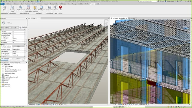 Revit 2019: Dimensions for Curved Objects in Section Views