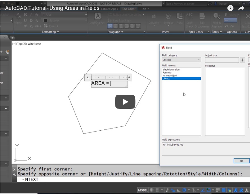 ATG Video Tutorial: AutoCAD Quick Tips with Isaac Harper