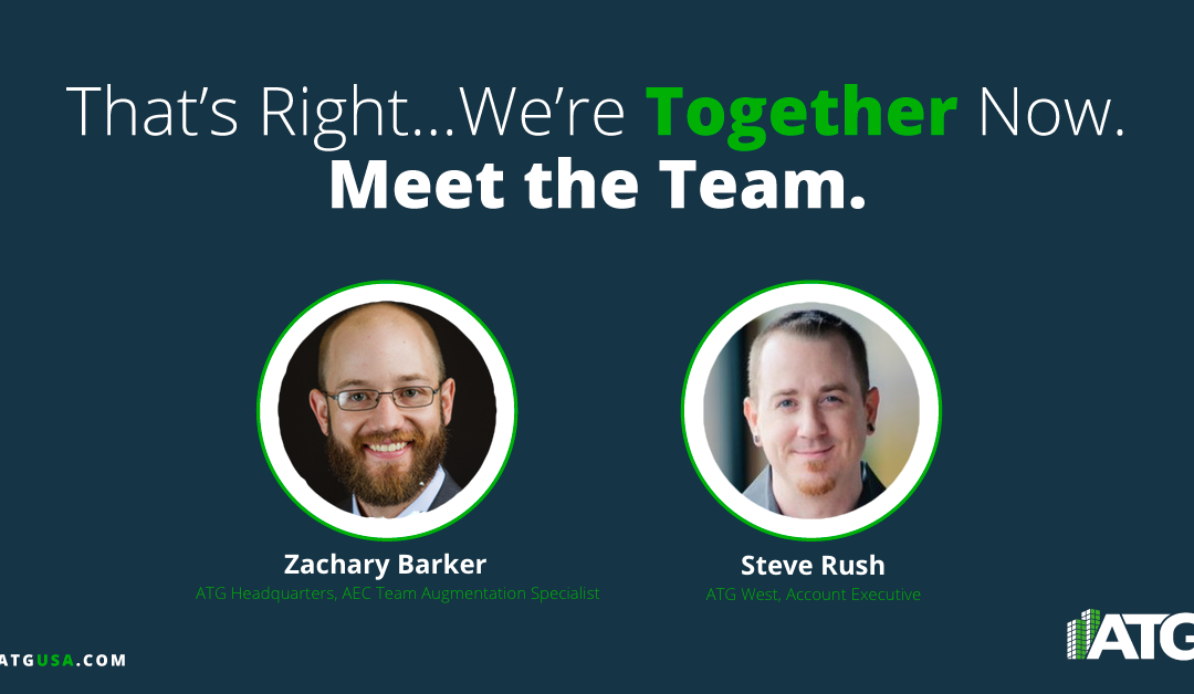 Meet the Team- Zachary Barker & Steve Rush