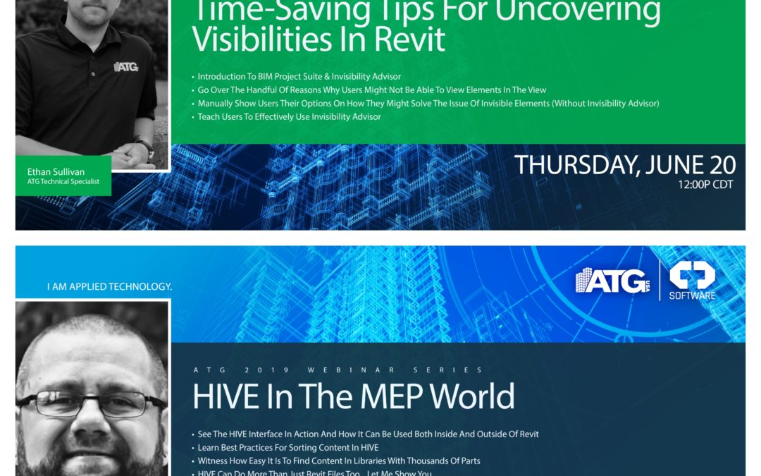ATG Webinars: Time-Saving Tips For Uncovering Visibilities in Revit & HIVE in the MEP World