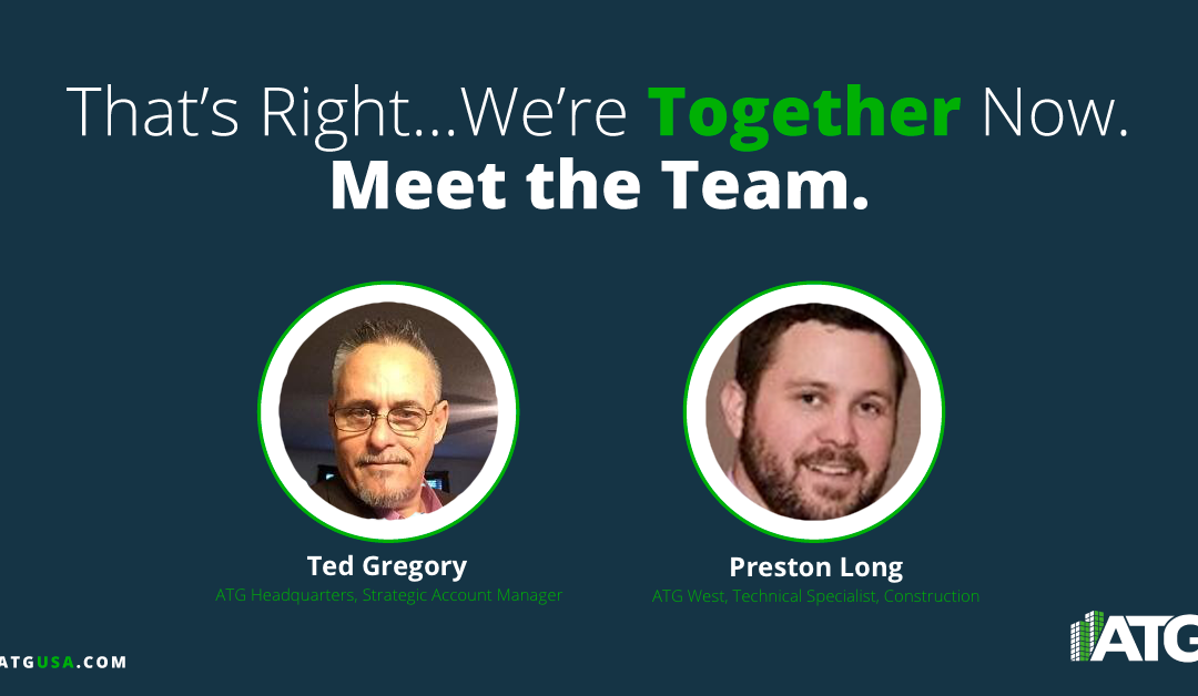 Meet the Team- Ted Gregory & Preston Long