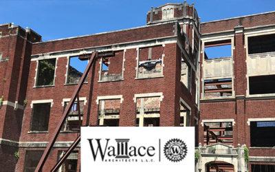 Laser Scanning: Saving a Historic Landmark – Wallace Architects