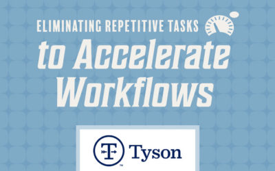 Dynamo Training: Eliminating Repetitive Tasks to Accelerate Workflows – Tyson