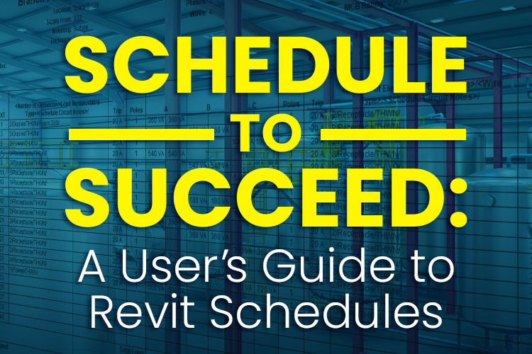 A User's Guide to Revit Schedules
