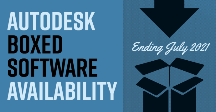 Autodesk Boxed Software Availability Ending July 2021