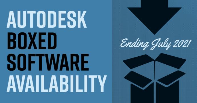 Autodesk Boxed Software Availability blog image