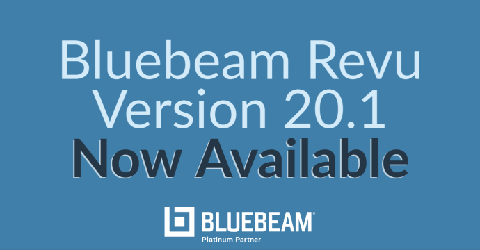 Revu Version 20.1 Now Available