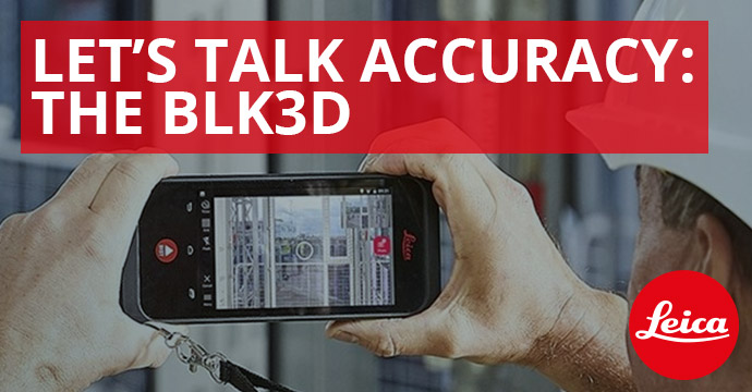 Let's Talk Accuracy: The BLK3D