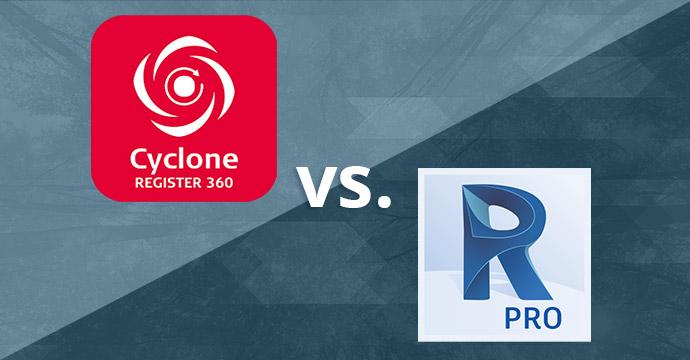 Comparing Leica Register 360 vs. Autodesk Recap Pro
