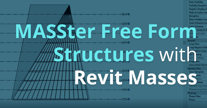 MASSter Free Form Structures with Revit Masses