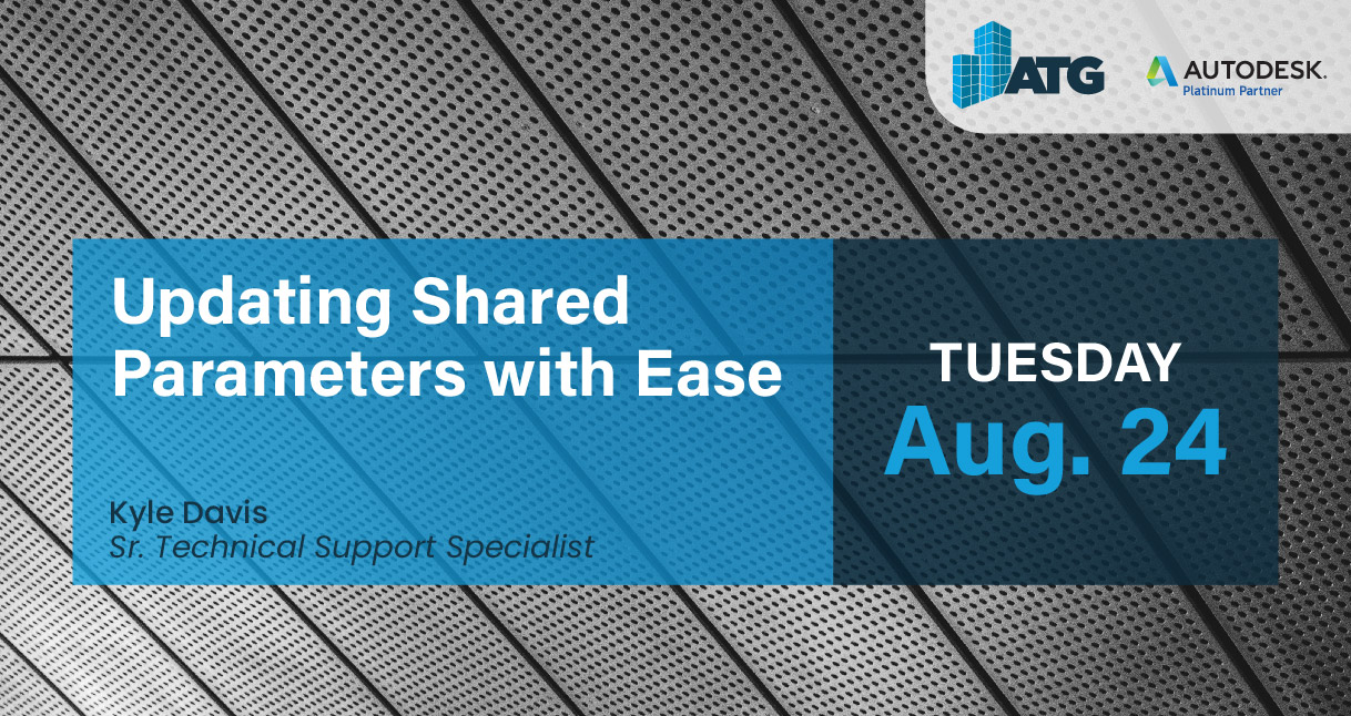 Webinar: Updating Shared Parameters With Ease