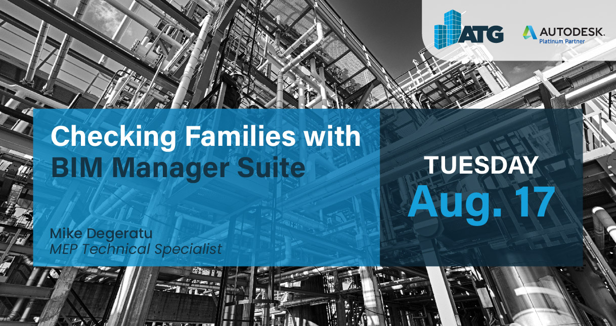Webinar: Checking Families with BIM Manager Suite
