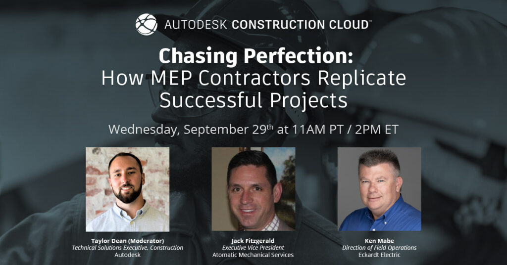 Chasing Perfection: How MEP Contractors Replicate Successful Projects